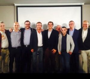 Todos los candidatos al Congreso por las diferentes provincias de Castilla y León con Albert Rivera, Candidato a Presidente del Gobierno.