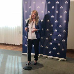 """Belén Rosado: """"Gracias a Ciudadanos, Castilla y León será el primer lugar de España con Cheque Formación"""""""