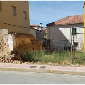 Ciudadanos consigue el derribo de varios edificios ruinosos en el casco urbano de Maello