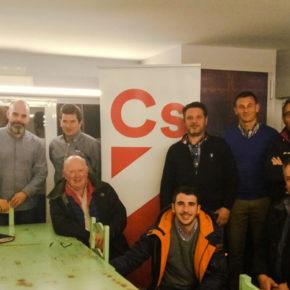 Ciudadanos Ávila aumentará su presencia en la calle para acercar las políticas naranjas a los abulenses