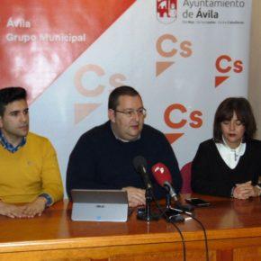 Cs propondrá la creación de un Consejo de Seguridad de la Ciudad de Ávila en el Pleno de marzo
