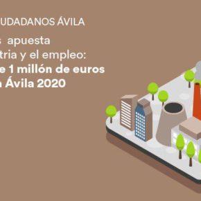 CIUDADANOS (Cs) Ciudadanos consigue en los Prespuestos Generales del Estado un millón de euros para potenciar el Plan Ávila 2020