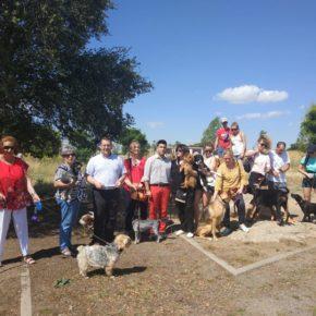 Ciudadanos (Cs) | El GM ciudadanos en Ávila denuncia el estado de abandono del parque de perros de la zona norte