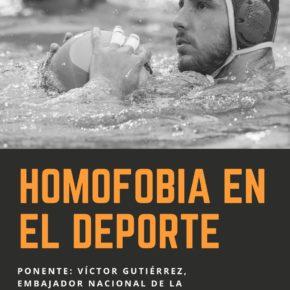 Ciudadanos (Cs)   El GM Ciudadanos en Ávila celebra que el embajador nacional de la Semana Europea del Deporte imparta las charlas contra la homofobia en el deporte en Ávila