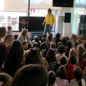 Jóvenes Ciudadanos Ávila concentra a más de 270 niños en su actividad de cuentacuentos infantil