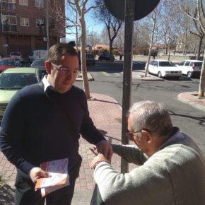 Cs recoge las inquietudes de los vecinos del barrio de la Universidad de Ávila
