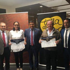 Pedro Cabrero asiste en Valladolid a la entrega de los Premios Alimentos Artesanos de Castilla y León a dos empresas abulenses