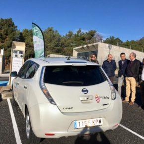 La Diputación instala cuatro puntos de recarga de vehículos eléctricos en el entorno de Gredos