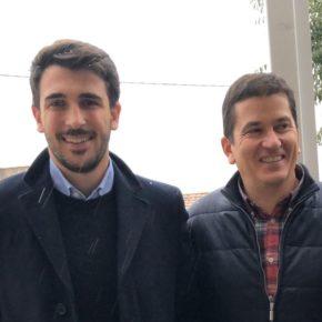 """Manuel Hernández (Cs): """"Voy a poner a Ávila y los abulenses en el centro de todas las políticas"""""""