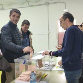 """Manuel Hernández (Cs): """"No nos podemos quedar en casa, los abulenses tenemos que salir a votar hoy por nuestro futuro"""""""