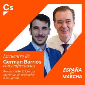 Encuentro de empresarios con Germán Barrios