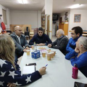 """Carlos López (Cs): """"Desde Ciudadanos nos comprometimos a dar respuesta a las principales demandas de los vecinos y hemos venido a trasladarles los avances en este sentido"""""""