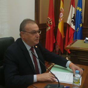 Pedro Cabrero pide instar a la Junta a comenzar a trabajar ya en materia de ordenación de los servicios en el territorio