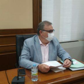 """Pedro Cabrero: """"Cs confía en que el Plan Territorial de Fomento sea el revulsivo y el impulso definitivo al despegue industrial de Ávila"""""""