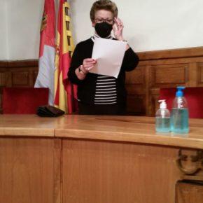 Eufemia Crespo, nueva concejala de Ciudadanos en el Ayuntamiento de El Hornillo